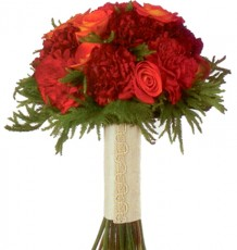 Circus Roses & Red Carnations