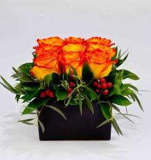 Compact Rose Arrangement